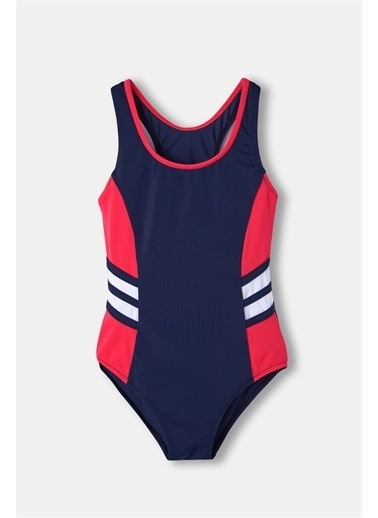 Dagi Kiz Çocuk Yüzücü Mayo Lacivert